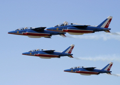 Patrouille de France - Biggin Hill.